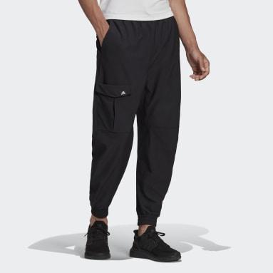 Men Sportswear Black adidas Sportswear Cargo Twill Pants