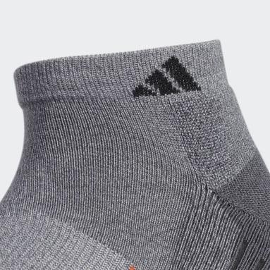 Men's Running Grey Cushioned Low-Cut Socks 2 Pairs