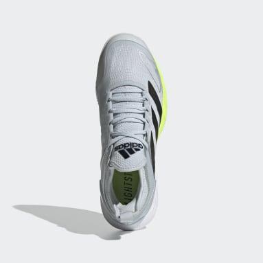 Kvinder Tennis Hvid Adizero Ubersonic 4 Clay sko