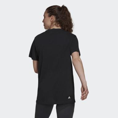 T-shirt adidas Sportswear Future Icons Logo Graphic Nero Donna Sportswear
