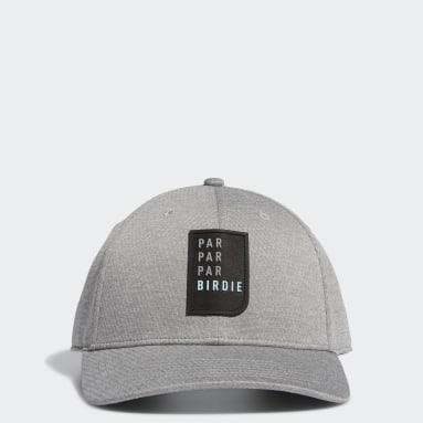 Men's Golf Grey Par Par Par Birdie Snapback Hat