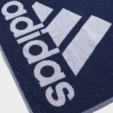 Vintersport Blå adidas håndklæde, lille