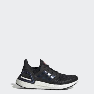Kids Running Black Ultraboost 20 Shoes