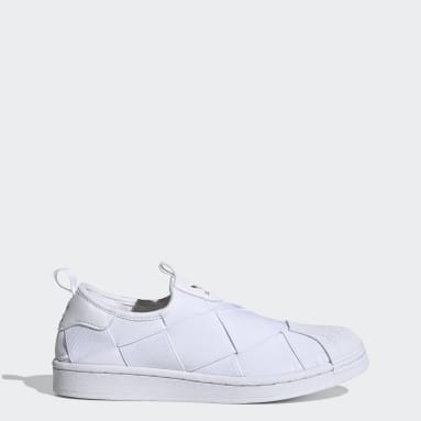 Scarpe Superstar Slip-on Bianco Donna Originals