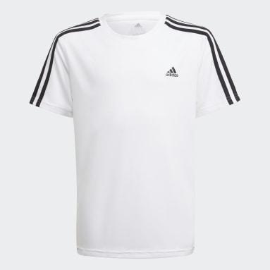 белый Футболка Designed 2 Move 3-Stripes