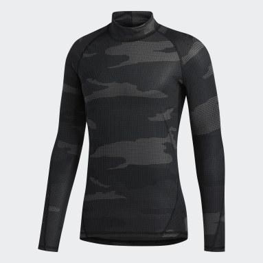 Men's Training Grey Alphaskin Camouflage T-Shirt