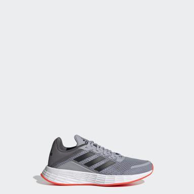 Kids Running Grey Duramo SL Shoes