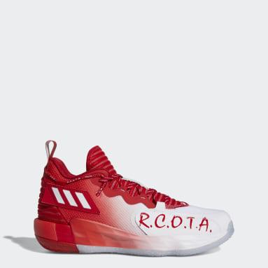 Basketball White Dame 7 EXTPLY: Opponent Advisory Shoes