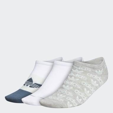 Women's Originals Multicolor Graphic No-Show Socks 3 Pairs