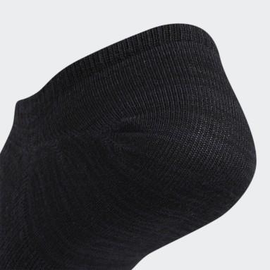 Men's Training Black Superlite Super-No-Show Socks 6 Pairs