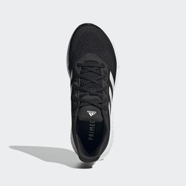Youth 8-16 Years Running Black Supernova Primegreen Boost Running Shoes