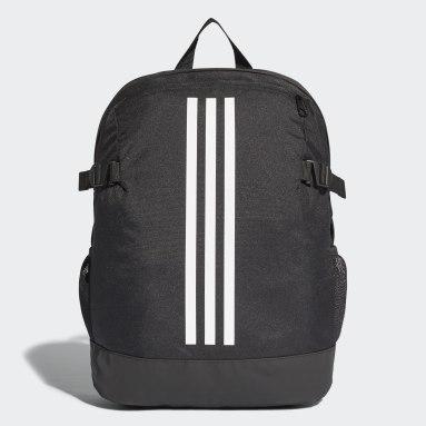 Gym & Training Black 3-Stripes Power Backpack Medium