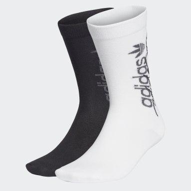 Originals White R.Y.V. Thin Crew Socks 2 Pairs