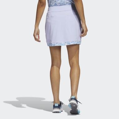 Women Golf Purple Ultimate365 Printed Primegreen Skirt