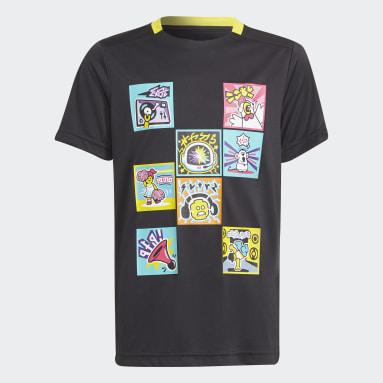 Kids Training Black adidas x LEGO® VIDIYO™ Tee Shirt
