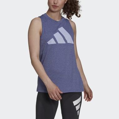 Women's Sportswear Purple adidas Sportswear Winners 2.0 Tank Top