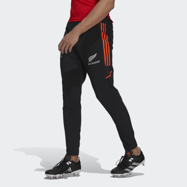 Men Rugby Black All Blacks Primeblue Rugby Presentation Pants