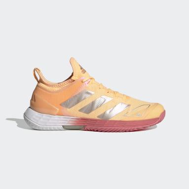 Women Tennis Orange Adizero Ubersonic 4 Tennis Shoes