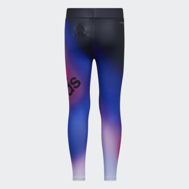 Youth Training Black Ombré Graphic Tights