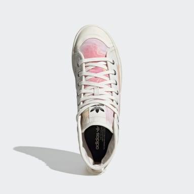Men Originals White Nizza Parley Hi Shoes