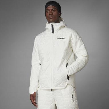 Men's TERREX White Terrex MYSHELTER PrimaLoft Parley Hooded Padded Jacket