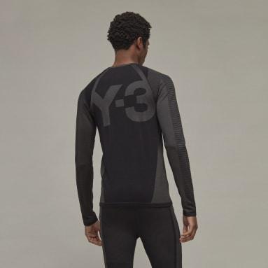 Camiseta manga larga Classic Knit Base Layer Y-3 Negro Hombre Y-3