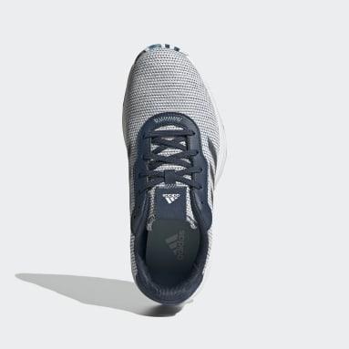Kvinder Golf Blå S2G Spikeless Golf sko