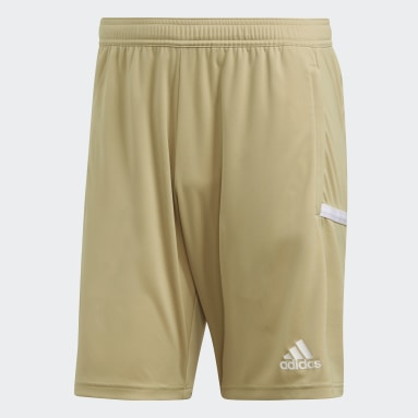Short Team 19 3-Pocket Beige Uomo Calcio