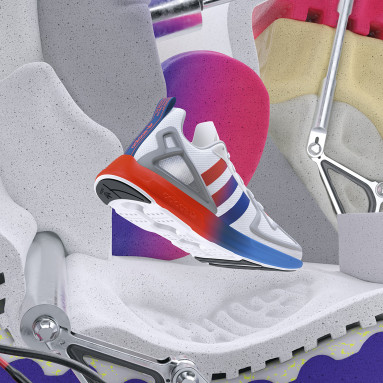 ZX 2K Flux Shoes Bialy