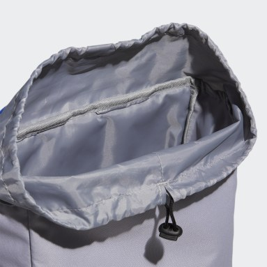Training Grey Flap Two-Layer Backpack
