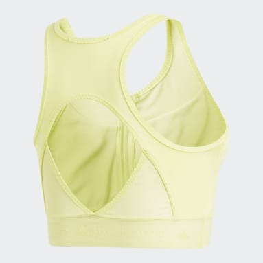 Playera Corta Run Adizero Verde Mujer adidas by Stella McCartney