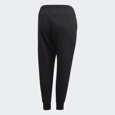 Women Sportswear Black Essentials Pants (Plus Size)