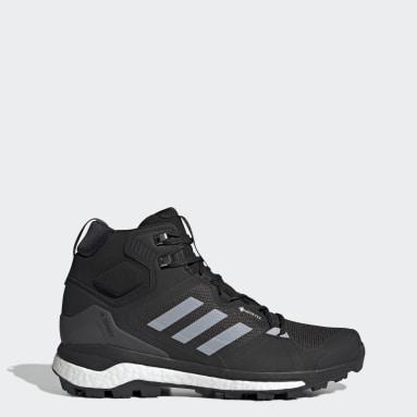 Men's TERREX Black Terrex Skychaser 2 Mid GORE-TEX Hiking Shoes