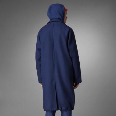 Men Originals Blue Blue Version Wool Coat