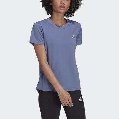 Women's Training Purple AEROREADY Designed to Move Sport Tee