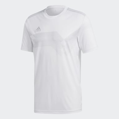 Maillot Campeon 19 Blanc Hommes Fitness Et Training