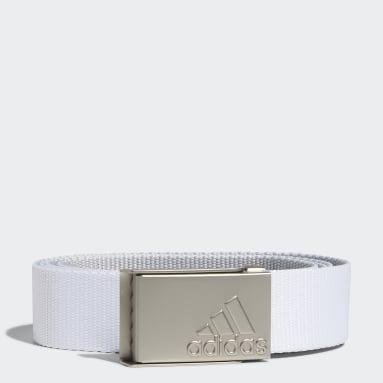 Youth Golf White Universal Web Belt