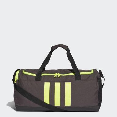 Sac en toile Essentials 3-Stripes Format moyen Gris Volley-ball