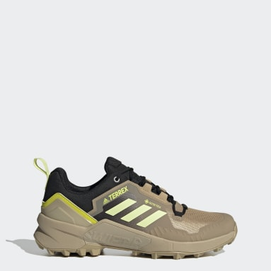 Zapatillas de Senderismo Terrex Swift R3 GORE-TEX Beige Hombre TERREX