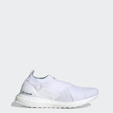Women's Running White Ultraboost Slip-On DNA Shoes
