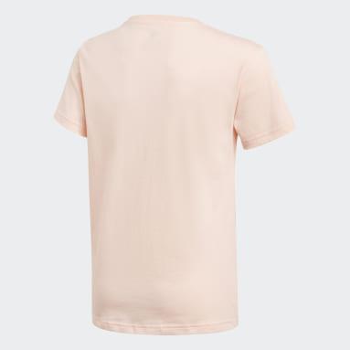 Camiseta Trefoil Rosa Kids Originals