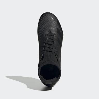 Boys Football Black Predator 20.3 Firm Ground Boots
