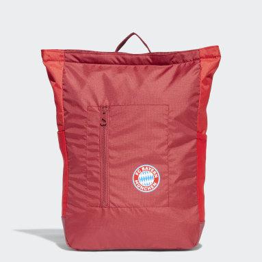 Fußball FC Bayern München Rucksack Rot