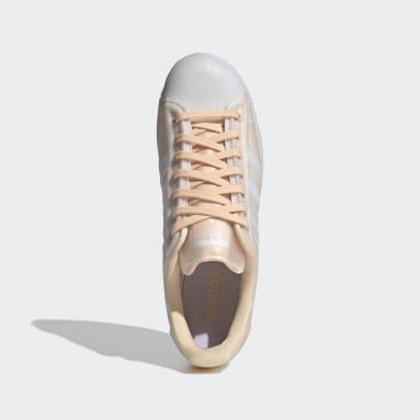 Men Originals Orange Superstar Futureshell Shoes