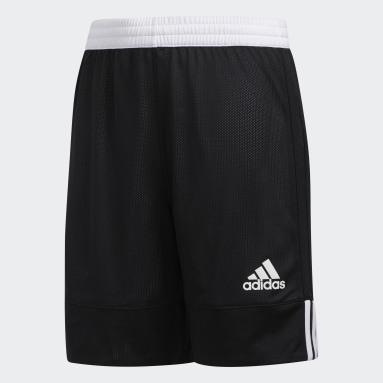 Pantalón corto Reversible 3G Speed Negro Niño Baloncesto