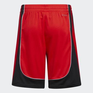 Youth Basketball Red B-Ball Creator Shorts