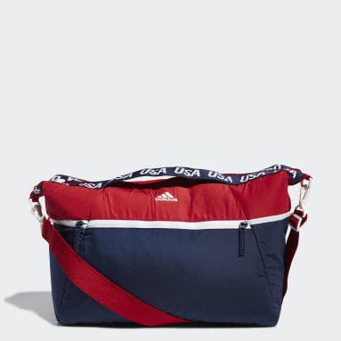 Women's Volleyball Red USA Volleyball Studio Duffel Bag
