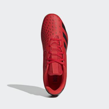 Men Football Red Predator Freak.4 Sala Indoor Boots
