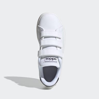 Kids Lifestyle White Advantage Shoes