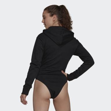Women Sportswear Black adidas Sportswear Future Icons Leotard